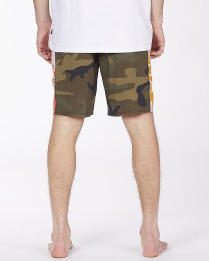 "5 D Bah Pro 19"" - Recycled Board Shorts for Men Camo W1BS39BIP1 Billabong"