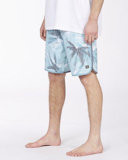 "3 73 Lineup Pro 20"" - Board Shorts for Men Blue W1BS42BIP1 Billabong"