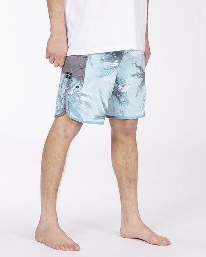 "4 73 Lineup Pro 20"" - Board Shorts for Men Blue W1BS42BIP1 Billabong"
