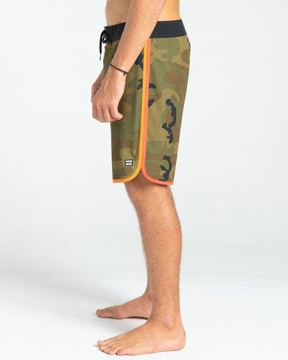 """1 73 Lineup Pro 20"""" - Boardshort pour Homme Camo W1BS42BIP1 Billabong"""