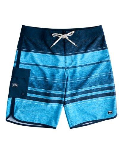 "0 73 Stripe Pro 19"" - Boardshort pour Homme Bleu W1BS43BIP1 Billabong"