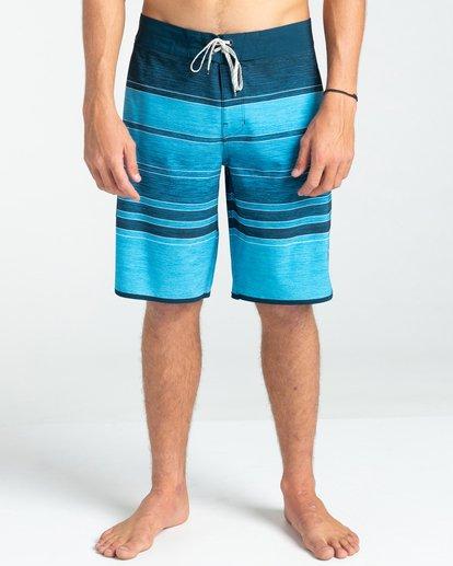 """2 73 Stripe Pro 19"""" - Board Shorts for Men Blue W1BS43BIP1 Billabong"""