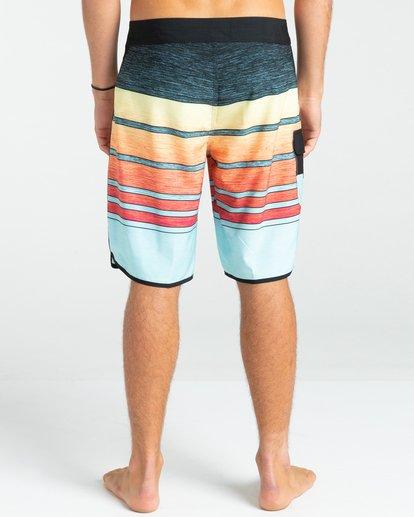 """6 73 Stripe Pro 19"""" - Board Shorts for Men Blue W1BS43BIP1 Billabong"""