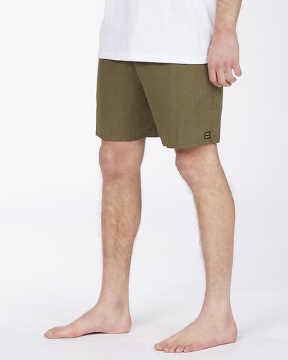"3 Adventure Division Surftrek Hemp 17"" - Recycled Board Shorts for Men Multicolor W1BS56BIP1 Billabong"