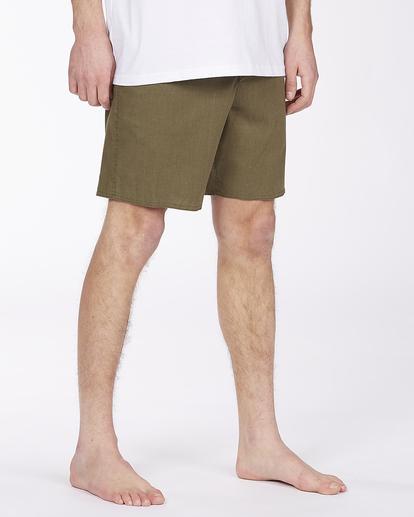 "4 Adventure Division Surftrek Hemp 17"" - Recycled Board Shorts for Men Multicolor W1BS56BIP1 Billabong"
