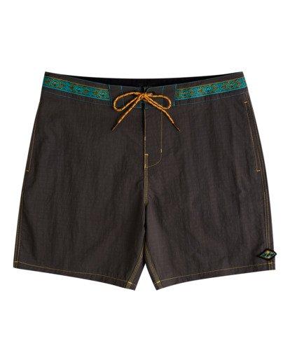 "0 Currents Low Tide 17"" - Board Shorts for Men Black W1BS57BIP1 Billabong"