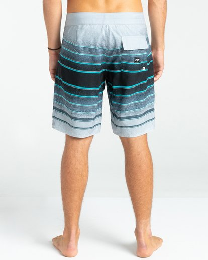 "4 All Day Stripes 19"" - Board Shorts for Men Grey W1BS61BIP1 Billabong"