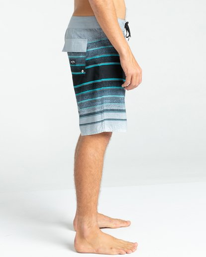 "2 All Day Stripes 19"" - Board Shorts for Men Grey W1BS61BIP1 Billabong"