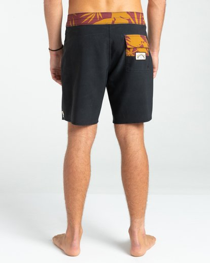 """1 All Day Pigment Pro 17"""" - Recycled Board Shorts for Men Black W1BS67BIP1 Billabong"""