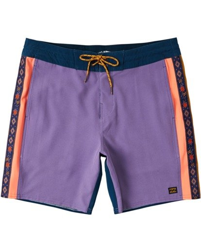 4 Dbah Lo Tide - Board Shorts for Men Purple W1BS82BIP1 Billabong
