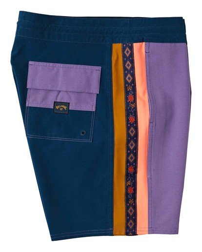 7 Dbah Lo Tide - Board Shorts for Men Purple W1BS82BIP1 Billabong