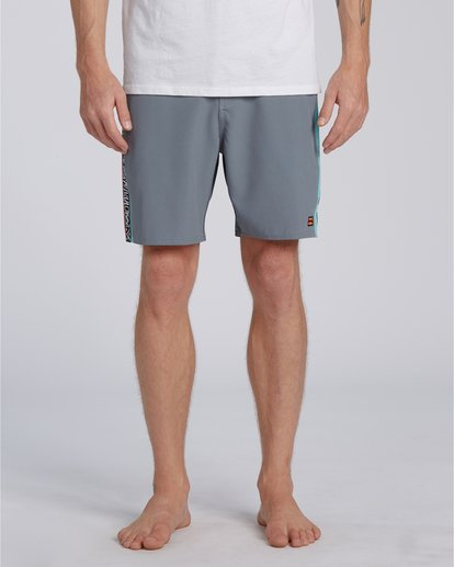4 Dbah Lo Tide - Board Shorts for Men Grey W1BS82BIP1 Billabong