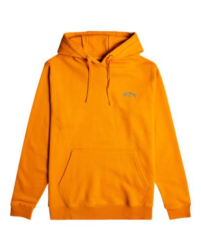 0 Arch Wave  - Sweat à capuche pour Homme Orange W1HO20BIF1 Billabong