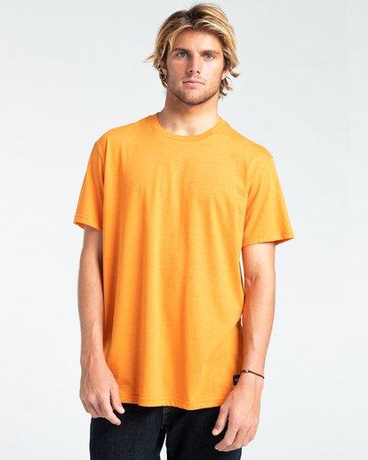 0 All Day - T-shirt pour Homme Orange W1JE20BIP1 Billabong