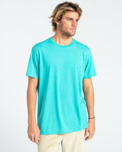 0 All Day - T-shirt pour Homme Bleu W1JE20BIP1 Billabong