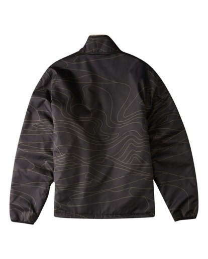 6 Adventure Division Switchback Dunes - Reversible Ripstop and Sherpa Jacket for Men Black W1JK09BIP1 Billabong