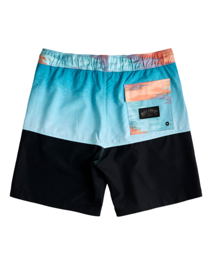 """1 Fifty50 Layback 17"""" - Recycled Board Shorts for Men Blue W1LB03BIP1 Billabong"""