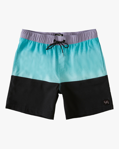 """0 Fifty50 Layback 17"""" - Recycled Board Shorts for Men Blue W1LB03BIP1 Billabong"""