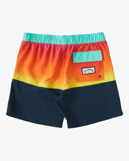 """1 Fifty50 Layback 17"""" - Recycled Board Shorts for Men Red W1LB03BIP1 Billabong"""