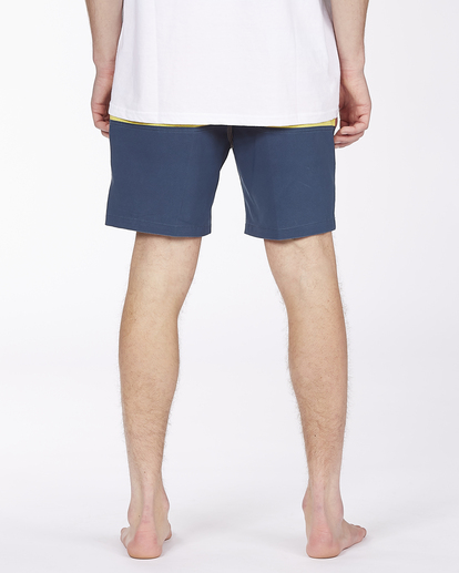 """5 Fifty50 Layback 17"""" - Recycled Board Shorts for Men Red W1LB03BIP1 Billabong"""