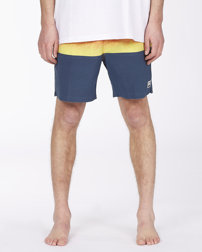 """2 Fifty50 Layback 17"""" - Recycled Board Shorts for Men Red W1LB03BIP1 Billabong"""
