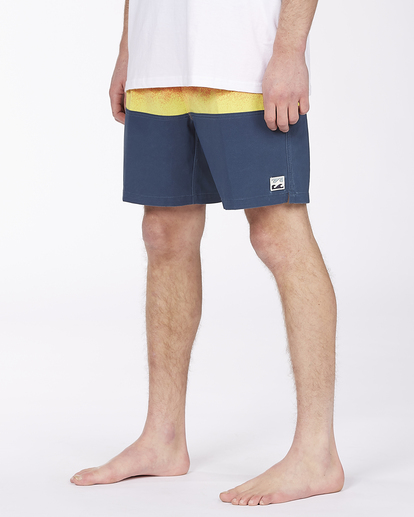 """3 Fifty50 Layback 17"""" - Boardshort de tejido reciclado para Hombre Rojo W1LB03BIP1 Billabong"""