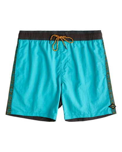 "0 Currents Layback 17"" - Schwimmshorts für Männer Blau W1LB16BIP1 Billabong"