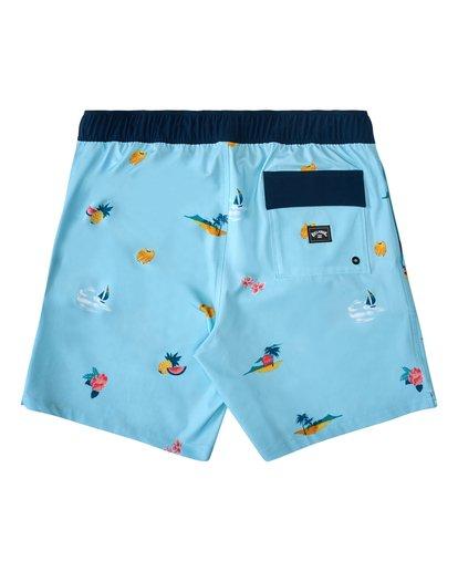 1 Sundays Layback Hawaii - Board Shorts for Men Blue W1LB31BIP1 Billabong