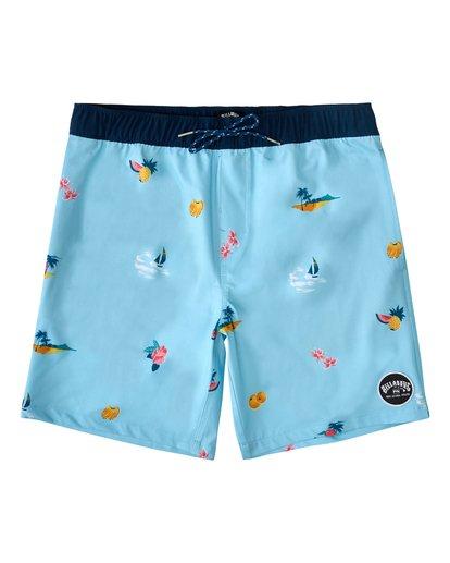 0 Sundays Layback Hawaii - Board Shorts for Men Blue W1LB31BIP1 Billabong
