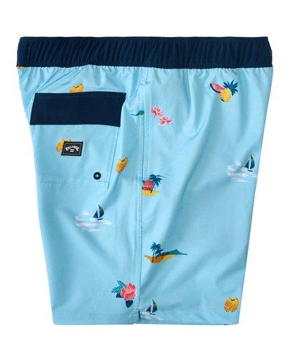 3 Sundays Layback Hawaii - Board Shorts for Men Blue W1LB31BIP1 Billabong