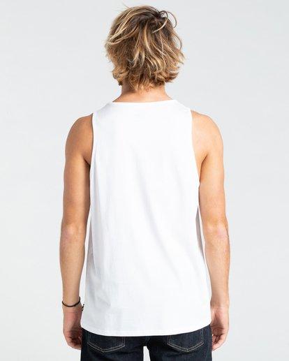 1 Painted Palms - Débardeur pour Homme Blanc W1SG09BIP1 Billabong