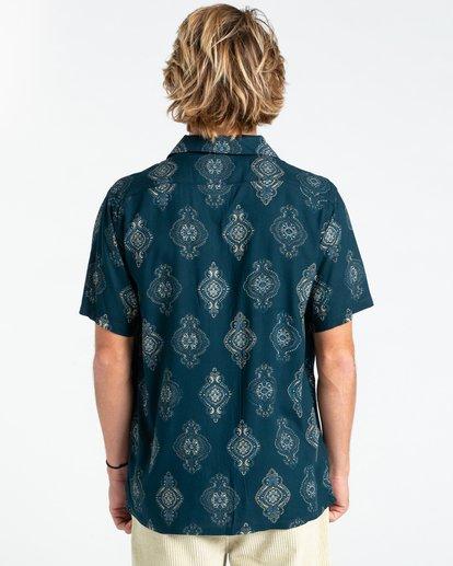 1 Sunday Vacay - Short Sleeve Shirt for Men Blue W1SH01BIP1 Billabong