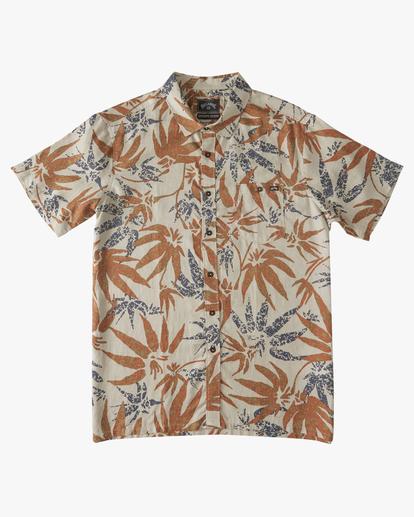 4 Adventure Division Kern Hemp - Short Sleeve Shirt for Men Beige W1SH08BIP1 Billabong