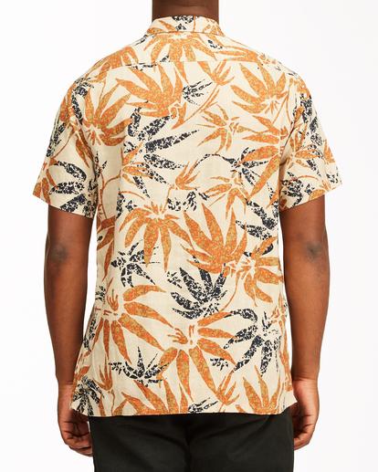 2 Adventure Division Kern Hemp - Short Sleeve Shirt for Men Beige W1SH08BIP1 Billabong