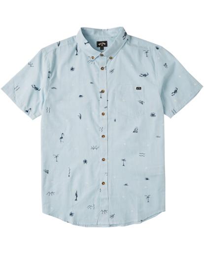 3 Sundays Mini - Camiseta para Hombre Azul W1SH20BIP1 Billabong