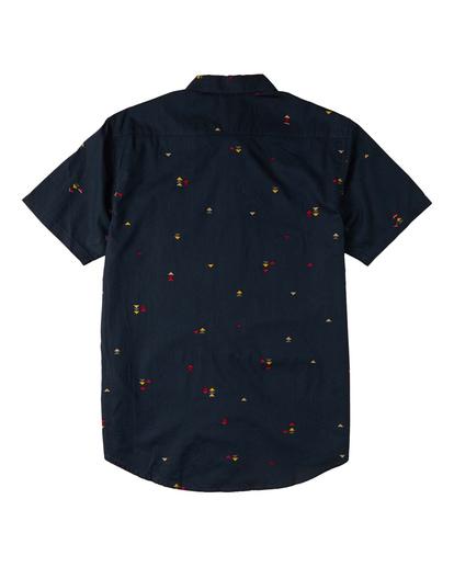 1 Sundays Mini - T-Shirt für Männer Blau W1SH20BIP1 Billabong