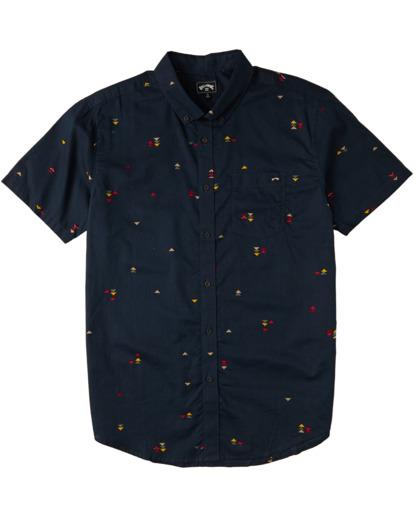 0 Sundays Mini - T-Shirt für Männer Blau W1SH20BIP1 Billabong