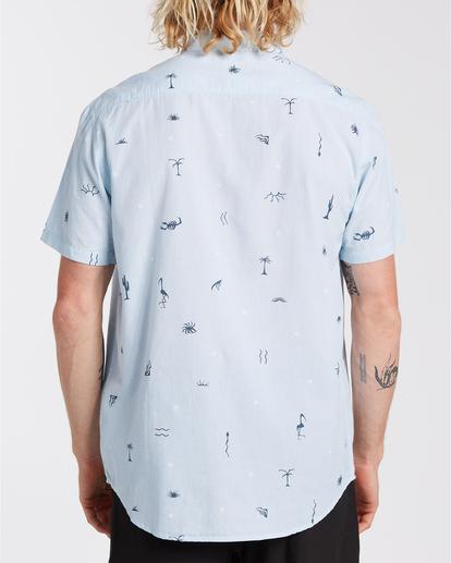 1 Sundays Mini - Camiseta para Hombre Azul W1SH20BIP1 Billabong