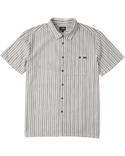 6 Sundays Jacquard - T-Shirt für Männer Weiss W1SH21BIP1 Billabong