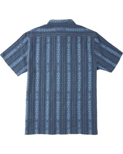 4 Sundays Jacquard - T-Shirt for Men Blue W1SH21BIP1 Billabong
