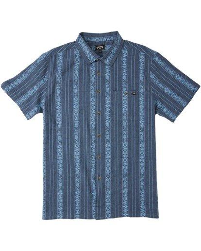 3 Sundays Jacquard - T-Shirt for Men Blue W1SH21BIP1 Billabong