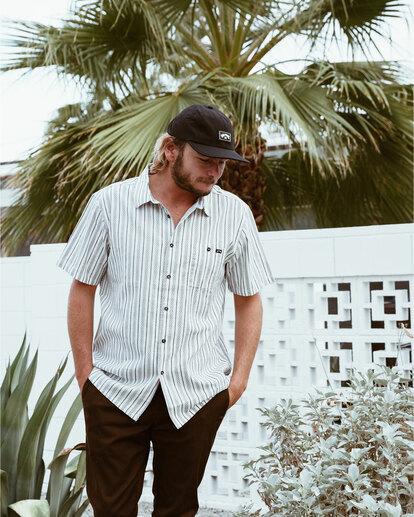 0 Sundays Jacquard - T-Shirt für Männer Weiss W1SH21BIP1 Billabong