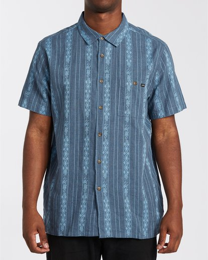 0 Sundays Jacquard - T-Shirt for Men Blue W1SH21BIP1 Billabong
