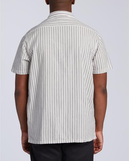 3 Sundays Jacquard - T-Shirt für Männer Weiss W1SH21BIP1 Billabong
