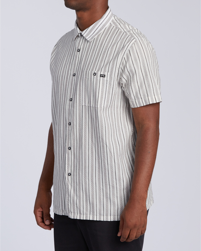 4 Sundays Jacquard - T-Shirt für Männer Weiss W1SH21BIP1 Billabong