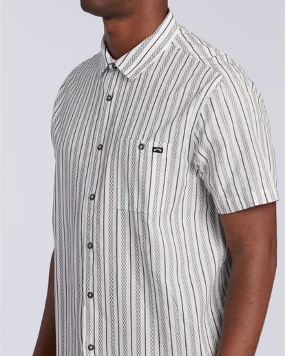 5 Sundays Jacquard - T-Shirt für Männer Weiss W1SH21BIP1 Billabong