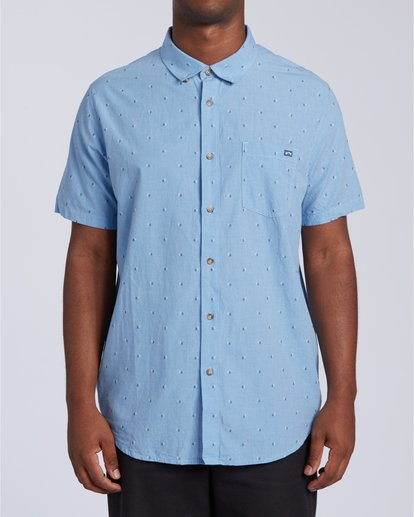 0 All Day Jacquard - T-Shirt für Männer Blau W1SH24BIP1 Billabong