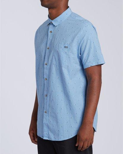 2 All Day Jacquard - T-Shirt für Männer Blau W1SH24BIP1 Billabong
