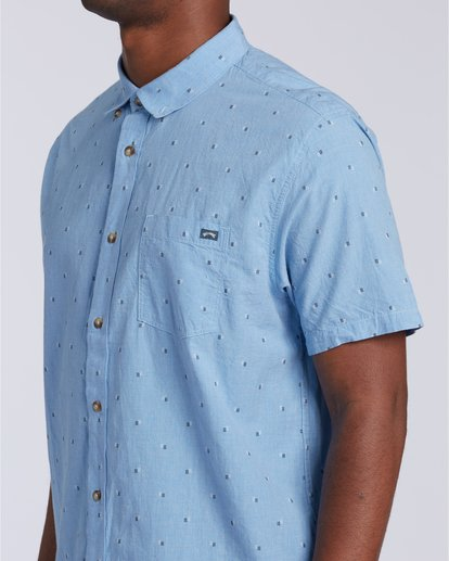 3 All Day Jacquard - T-Shirt für Männer Blau W1SH24BIP1 Billabong