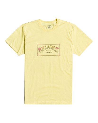 2 Arch - T-shirt pour Homme Jaune W1SS07BIP1 Billabong